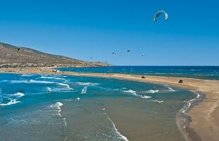 Windsurf-Rhodes-lagoon