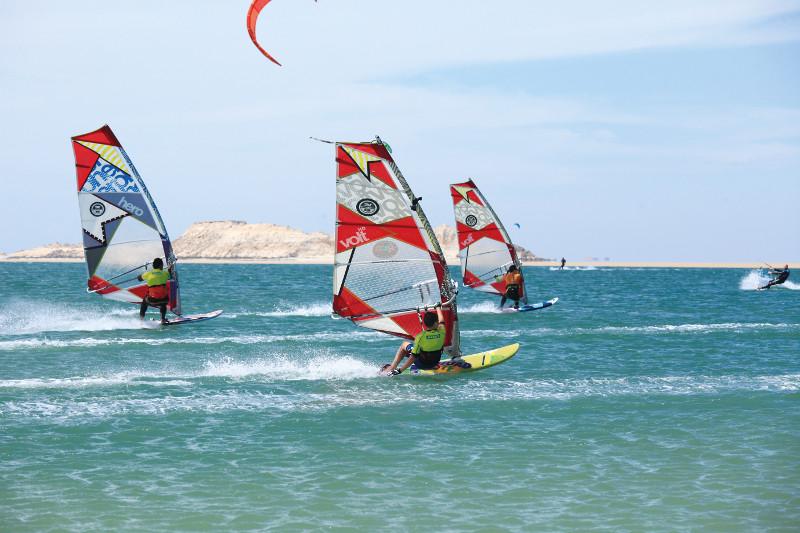 Dakhla-windsurf-action