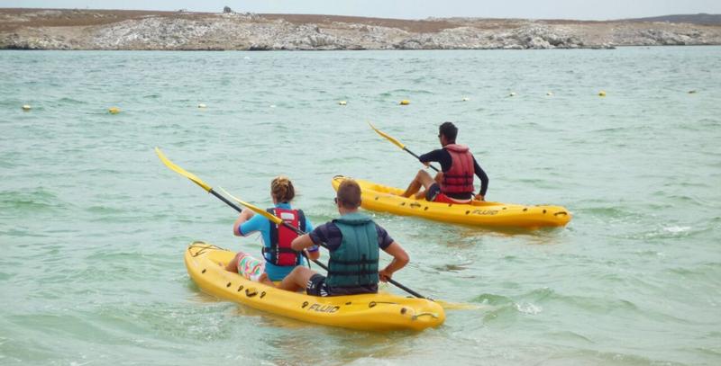 kayaking-langebaan-lagoon