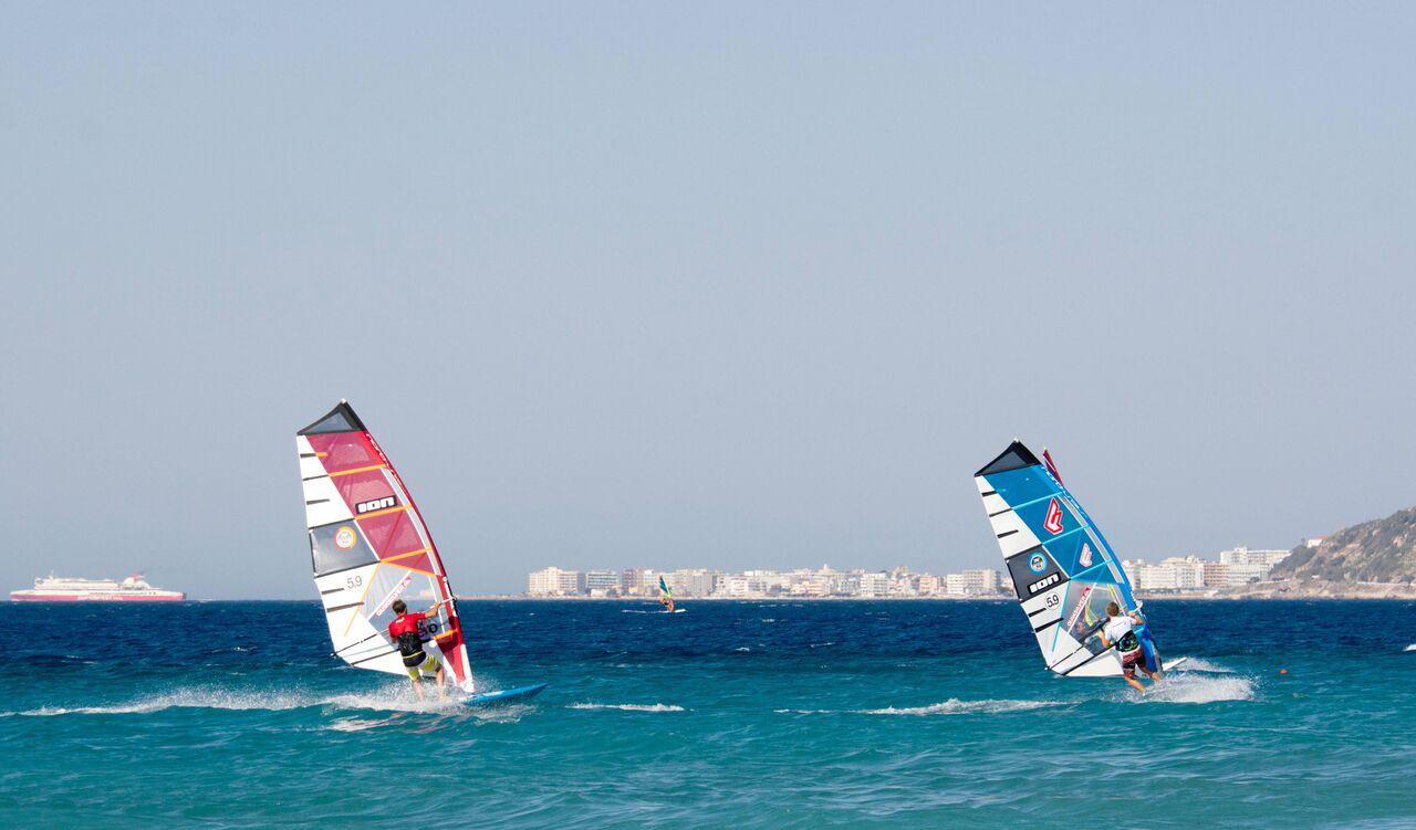 rhodes-windsurfing