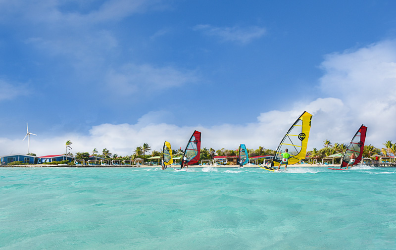 Windsurfing-Sorobon-Beach-Resort