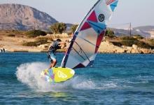Windsurfing in Karpathos, Greece