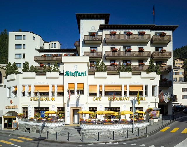 Hotels in st moritz  : Hotel Steffani