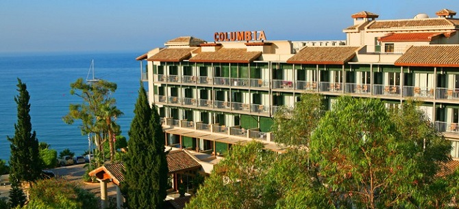 Hotels in pissouri  : Columbia Beach Hotel