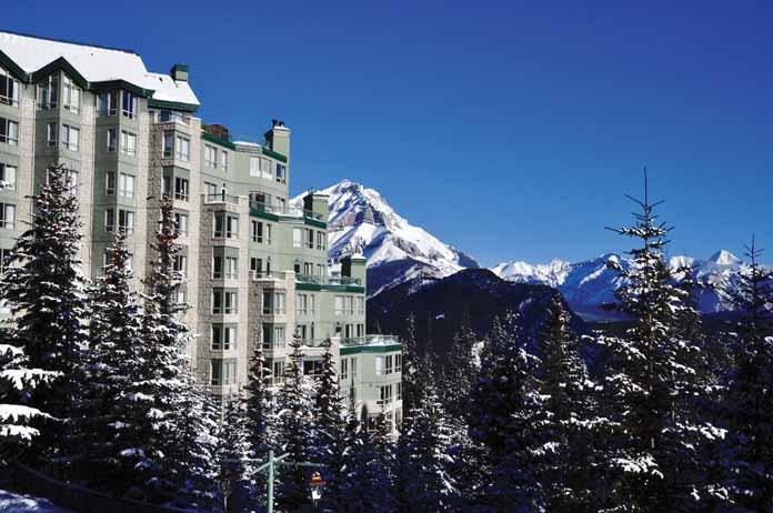 Hotels in banff  : Rimrock Resort Hotel