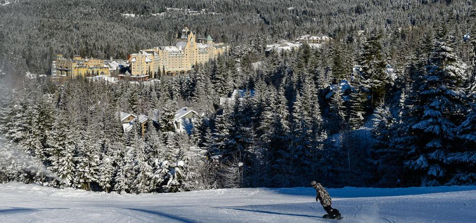 Hotels in whistler  : Fairmont Chateau Whistler