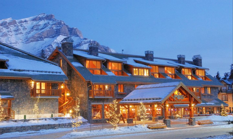 Hotels in banff  : Fox Hotel & Suites