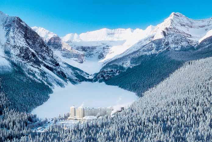 Hotels in lake louise  : Fairmont Chateau Lake Louise