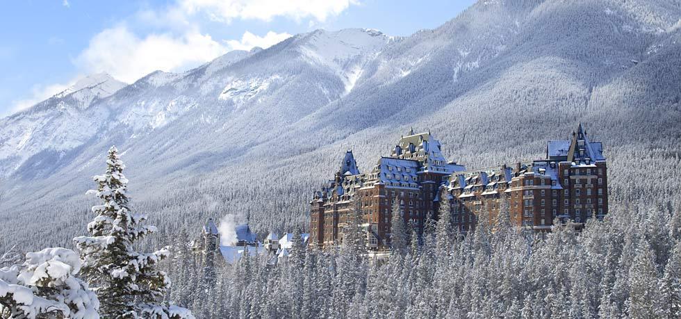 Hotels in banff  : Fairmont Banff Springs