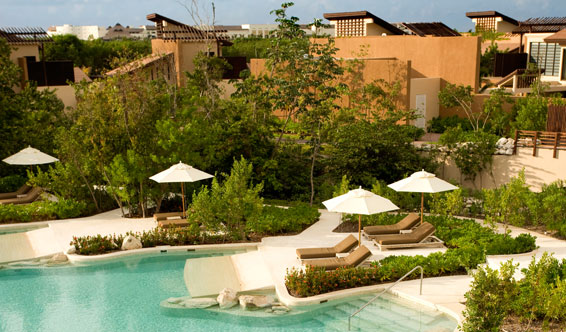Hotels in playa del carmen  : Banyan tree Mayakoba