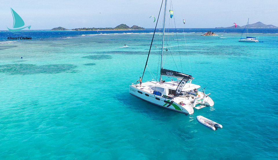 Hotels in union island  : Kitesurf Catamaran